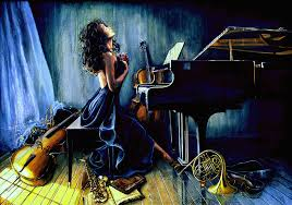 piano painting appassionato by hanne lore koehler