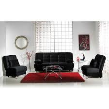 Istikbal Living Room Sets Vegas Convertible Sofa Set Rainbow Black Sofa And 2 Chairs D2d