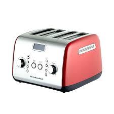 kitchen aid toaster kitchenaid toaster red