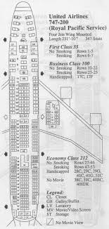 51 Unusual United Airline Seat Chart
