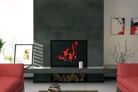 black tile fireplace black tile fireplace surround