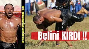 2019 Tarihi Kırkpınar Yağlı Güreşleri finalinde Ali Gürbüz Orhan Okulu'nun  Belini Kırdı!! - YouTube