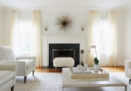 Art Flanking Fireplace Design Ideas