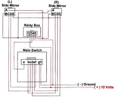 jdm folding mirror installation guide how power mirror works at Power Mirror Switch Wiring Diagram