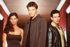 The following characters were featured in the opening credits of the program. Tv Guide Angel Star Charisma Carpenter Addresses Cordelia S Controversial Ending Entertainment Crestview News Bulletin Crestview Fl