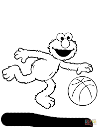 Small Picture Elmo coloring page Free Printable Coloring Pages