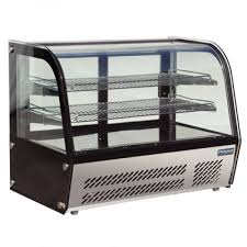 cake display chiller counter top