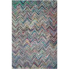 safavieh nantucket blue multi 5 ft x 8 area rug nan141c the