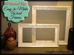 All Gus'ed Up: Easy-to-Make Wood Frames (part 1