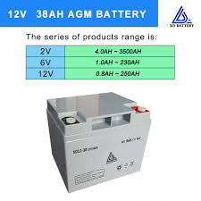 12v 33ah Lead Acid Solar Agm Battery Sealed Real Capacity