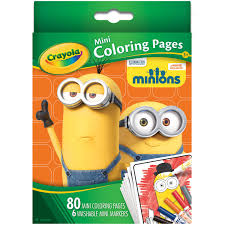 Small Picture Crayola Mini Coloring Pages Minions Walmartcom