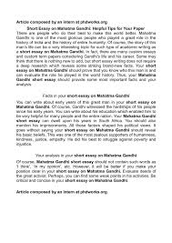 mahatma gandhi essay for kids essay on the childhood of a great  short essay on mahatma gandhi calamatildecopyo short essay on mahatma gandhi helpful tips for your paper