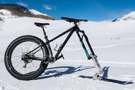 review fat bike ski dirt rag