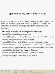 25 Dispatcher Resume Format Best Resume Templates
