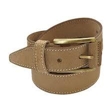 gearfour mens casual leather belt beige