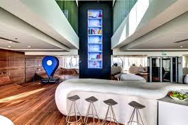 google office inside. Enchanting Tel Office Interiors Simple Google Interior Pictures: Full Size Inside