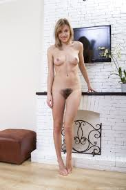We Are Hairy Alisia Alisia strips naked and shows her beautiful.