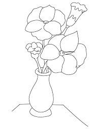 Small Picture Gladiolus flower vase coloring page Download Free Gladiolus