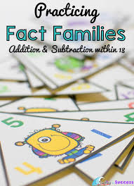 Fact Families: Add and Subtract within 18 - Surfing to Success