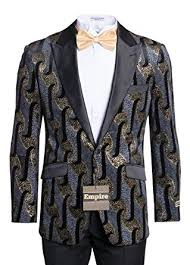 Patterned Tuxedo Best King Formal Wear Men's Premium Patterned Tuxedo Jackets Blazers