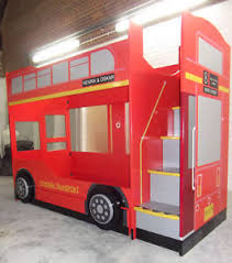 cool bunk bed for boys. Image Is Loading Bus-Bunk-Bed-London-Bus-Bed-Kids-Bunk- Cool Bunk Bed For Boys