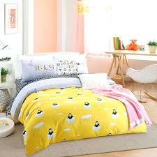 yellow duvet sets cotton fabric elegant penguin comforter bedding set 4 yellow quilt duvet cover queen yellow duvet sets