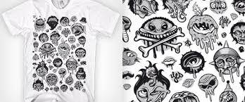 Awesome design black white Tile Bathroom 20 Awesome Black White Tshirt Designs Monsterblog 20 Awesome Black White Tshirt Designs Monsterblog