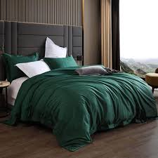 emerald green bedding matching