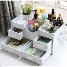 diy home office storage box makeup bathroom organizer desktop drawers waterproof 11street msia bathroom storage