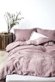 dusty pink duvet cover the best linen bedding dusty rose pink duvet cover
