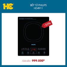 Bếp từ đơn Philips HD4911 👉 Mua ngay... - Siêu Thị Điện Máy HC