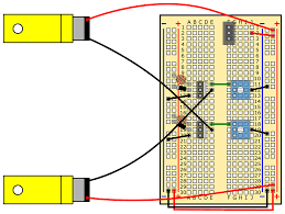 build a speedy light tracking robot bluebot project 2 science slideshow 20 light tracking robot circuit