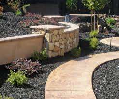 Use rocks to transform your plain and boring backyard into a beautiful and  relaxing oasis. Use their sculptural beauty to create eye-catching designs  and ...