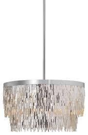 uttermost 21283 millie 6 light chandelier contemporary pendant lighting