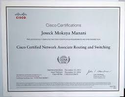 The Look And Feel Of The Ccna R S Certificate