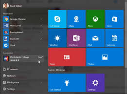 Microsoft Menu Microsoft Now Uses Windows 10s Start Menu To Display Ads