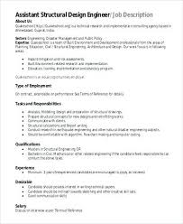 structural engineer job description technical engineer job description resume
