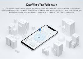 gf07 magnetic mini car tracker gps real time tracking locator device black