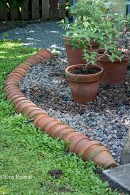 garden borders and edging. Plant Pot Edging Garden Borders And N