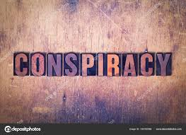 Image result for conspiracy word