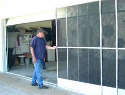 garage door screen kit post garage door screen kits menards