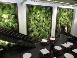 living walls put the green in greenbuild