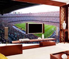 Bacaz Barcelona Voetbalstadion Sport 3d Muurschilderingen Behang