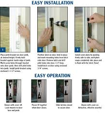 armor latch is real security for your sliding door and it s a snap to install