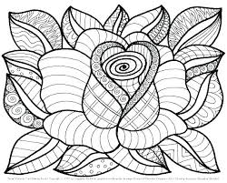 Coloring Pages Printable Flower Coloring Pages Printable Flower
