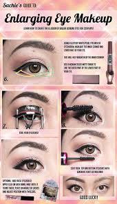 how to make eyes look bigger with makeup beauty hacks make your eyes look bigger