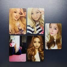 Red Velvet Ice Cream Cake Official Photocard Set K Wave On Carousell
