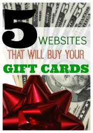 5 s that will gift cards for cash