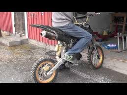 dirtbike 150cc cold start youtube