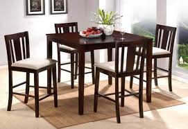 high kitchen table set. Tall Dining Tables Stunning High Chairs New Design Ideas Elegant Table Kitchen Set .